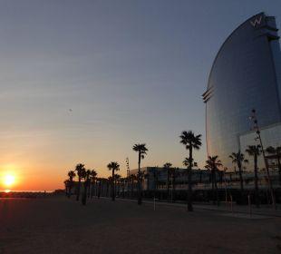 Morgenstimmung W Barcelona Hotel
