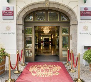 Außenansicht Best Western Premier Grand Hotel Russischer Hof