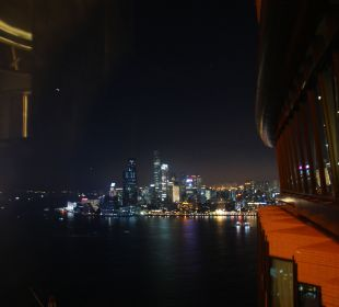 Blick aus dem 41. Stock Hotel Harbour Grand Hong Kong