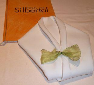 Perfekte Tischgestaltung Hotel Silbertal