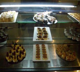 Gebäck Auswahl im Coco Café