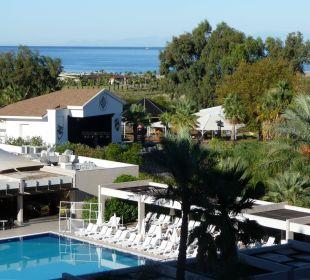 Ausblick vom Zimmer Sunis Hotels Elita Beach Resort & SPA
