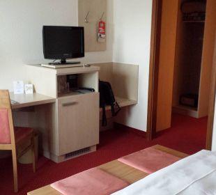 Schreibtisch, Minibar... Hotel am Kurpark
