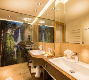 Berghof-Suite - Badezimmer Verwöhnhotel Berghof