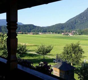 Ausblick auf das wunderbare Umland Bio-Bauernhof Zacherlhof