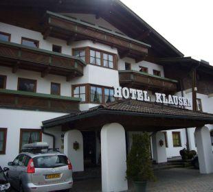Haupteingang Hotel Klausen