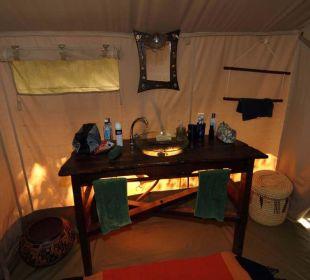 Waschgelegenheit Mara Bush Camp
