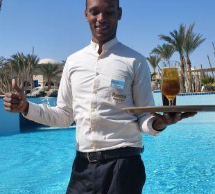 Ibrahim die treue Seele Hotel Iberotel Makadi Beach