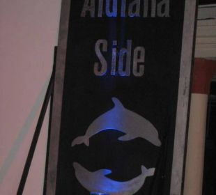 Aufsteller Club Aldiana Side
