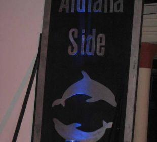 Aufsteller Club Aldiana Side (Vorgänger-Hotel – existiert nicht mehr)