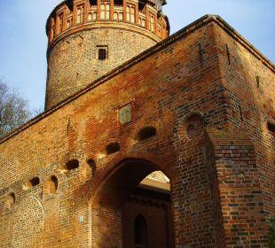 Stadtmauer Ringhotel Schloss Tangermünde
