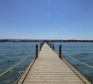 Zeytouna Beach der 400 Meter lange Steg