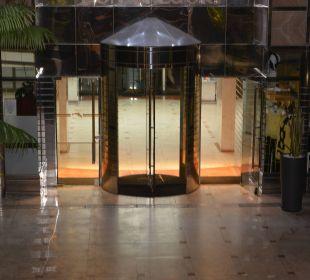Hoteleingang Hotel Dunas Don Gregory
