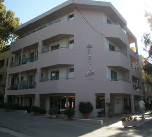 Eingang Hotel Corissia Beach
