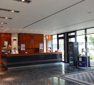 Rezeption Dorint Hotel An der Kongresshalle Augsburg