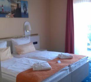 Geräumige, behindertengerechte Zimmer. Best Western Hotel Hanse-Kogge