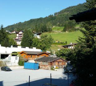 Ausblick vom Balkon Aktivhotel Alpendorf