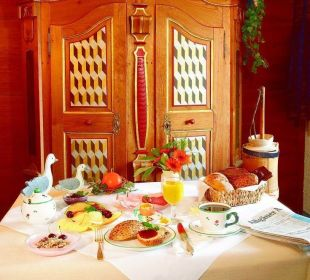 Frühstück Gästehaus Wineberger