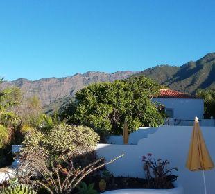 Blick in die Caldera Hotel La Palma Jardin