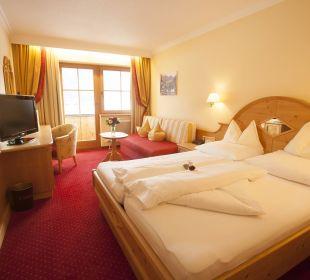 """Komfort Doppelzimmer """" Glückaussicht"""" Hotel Liebes Caroline"""