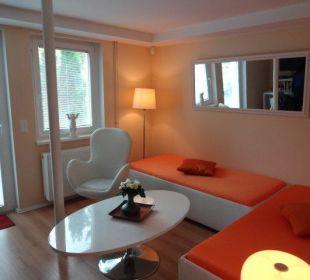 Das Gartenblick Zimmer City Holiday Apartments Berlin