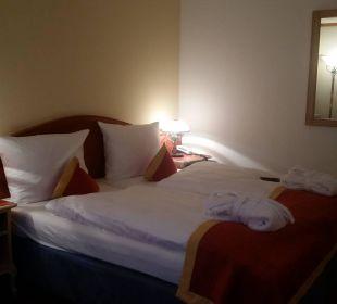 Bett Luitpoldpark Hotel Füssen