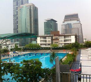 Huge Pool Hotel Glow Trinity Silom