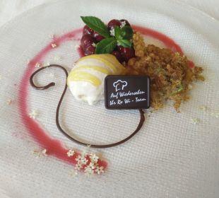 Dessert am letzten Abend Romantischer Winkel SPA & Wellness Resort