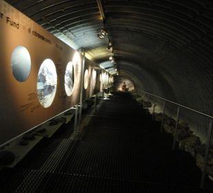 Ötzi-Showgalerie Glacier Hotel Grawand