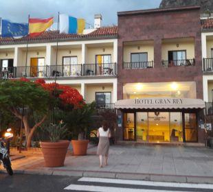 Außenansicht Hotel Gran Rey
