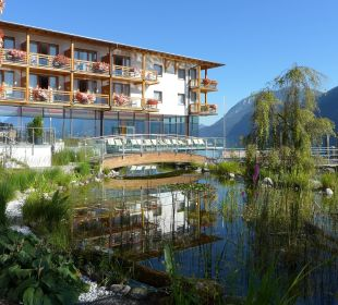 Gartenteich Hotel Travel Charme Fürstenhaus Am Achensee