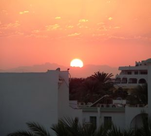 Sonnenuntergang aus dem Zimmer ein Draum!