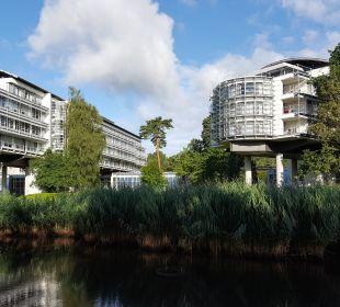 Außenansicht Kongresshotel Potsdam am Templiner See