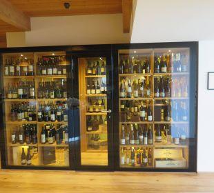 Begehbarer Weinschrank Beauty & Wellness Resort Hotel Garberhof