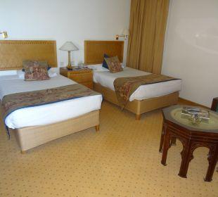 Bett Steigenberger Hotel Nile Palace