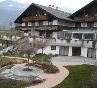 Gartenanlage Garberhof Beauty & Wellness Resort Hotel Garberhof