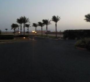 Schöner Ausblick am Abend