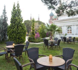 Gartenanlage Hotel WOW Kremlin Palace