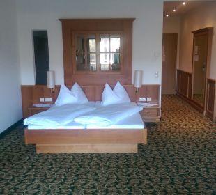 Das gemütliche Bett Gartenhotel Pfeffel