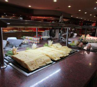 Lecker Käse um 5:30 h!! SBH Hotel Costa Calma Palace