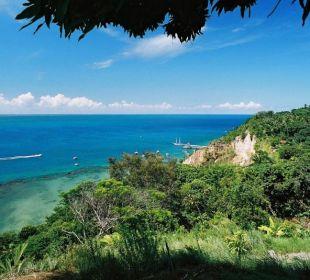 Aussicht auf den Hafen Hotel Pousada Colibri
