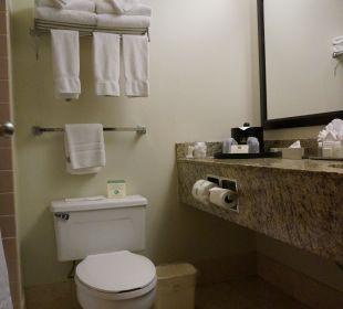 Die Toilette Best Western Hotel Bayside Inn
