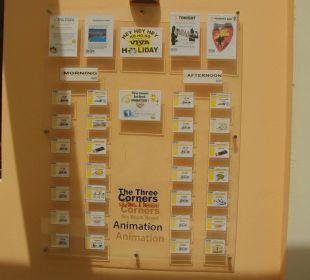Die Animations-Tafel