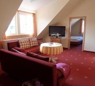 Wohn/Schlafbereich Apart Hotel Wernigerode