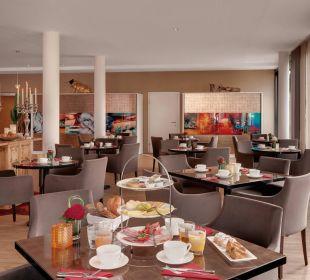 Frühstücksbereich Amedia Luxury Suites Graz