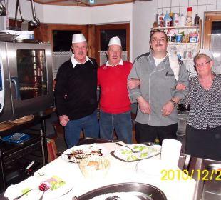 Häferlgucken in der Küche Hotel Ramerhof