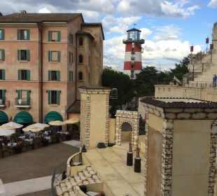 Ausblick Hotel Colosseo Europa-Park