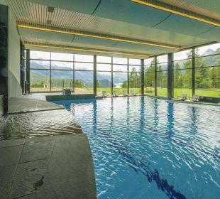 Swimmingpool Hotel Suvretta House
