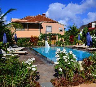Nochmals am Pool Hotel Hacienda de Abajo