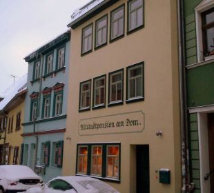 Pension vom Domplatz aus Altstadtpension am Dom